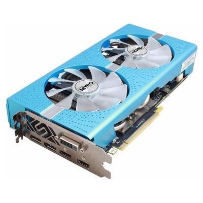 OPRAVENÉ - SAPPHIRE NITRO+ RADEON RX 590 / 8GB GDDR5 / PCI-E / 2x HDMI / DVI-D / 2x  DP / speciální edice / active