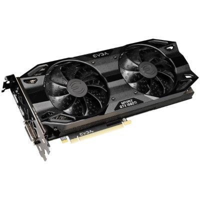 EVGA GeForce GTX 1660 Ti XC Ultra GAMING / 6GB GDDR6 / PCI-E / DP / HDMI / DVI-D