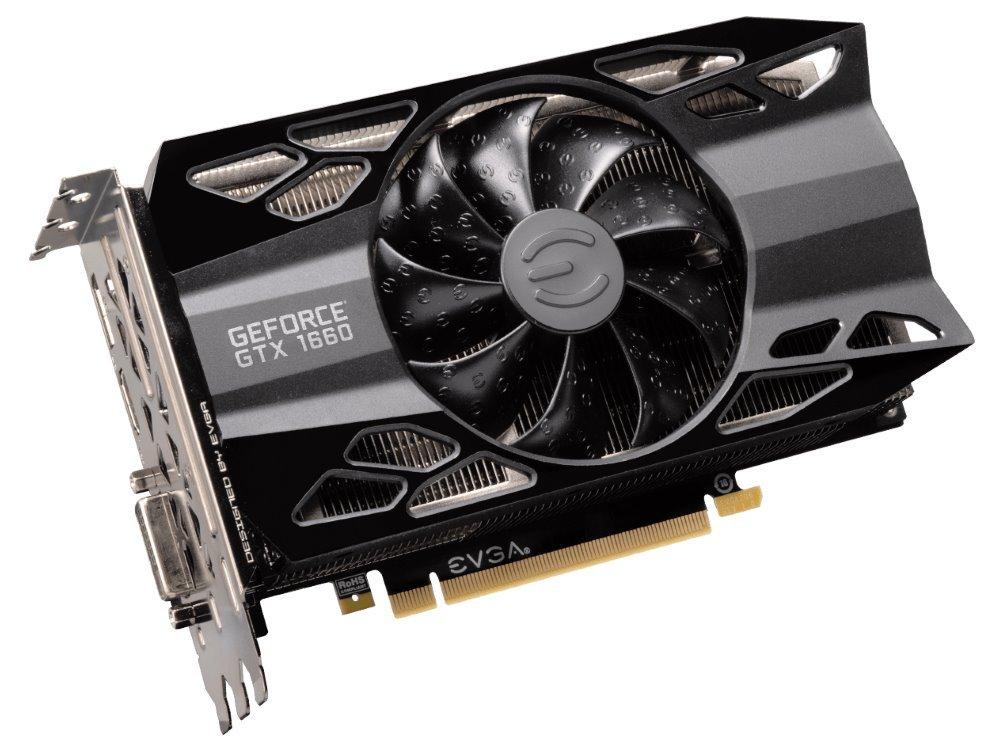 Grafická karta EVGA GeForce GTX 1660 XC Black