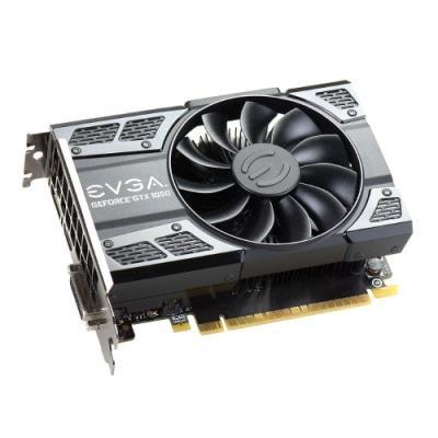Grafická karta EVGA GeForce GTX 1050 Ti SC 4GB
