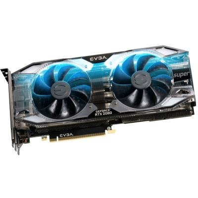 EVGA GeForce RTX 2080 SUPER XC ULTRA GAMING /  8GB GDDR6 /  PCI-E / 3x DP / HDMI / USB Type-C