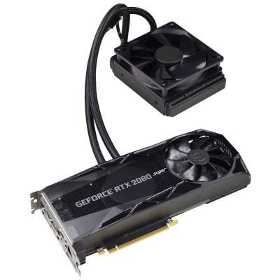 EVGA GeForce RTX 2080 SUPER XC HYBRID GAMING /  8GB GDDR6 /  PCI-E / 3x DP / HDMI / USB Type-C