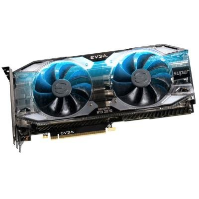 EVGA GeForce RTX 2070 SUPER XC ULTRA GAMING / 8GB GDDR6 / PCI-E / 3x DP / HDMI / USB Type-C / RGB /