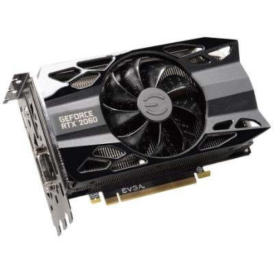 EVGA GeForce RTX 2060 XC BLACK GAMING / 6GB GAMING / PCI-E / DP / HDMI / DVI-D