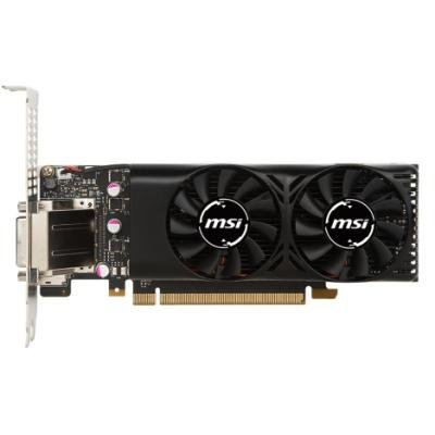 MSI GeForce GTX 1050 Ti 4GT LP / PCI-E/ 4GB GDDR5 / DVI / HDMI / DP