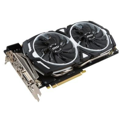 Grafická karta MSI GeForce GTX 1080 ARMOR 8G OC