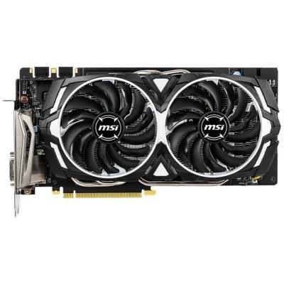OPRAVENÉ - MSI GeForce GTX 1060 ARMOR 6GD5X OC / PCI-E / 6GB DDR5X / 1x DVI / 1x HDMI / 3x DP / active