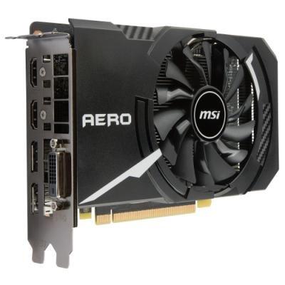Grafická karta MSI GeForce GTX 1060 AERO ITX 3G OC