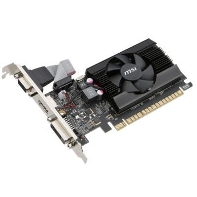 MSI GT 710 2GD3 LP / PCI-E / 2GB / HDMI / DL DVI-D / VGA / active / low profile