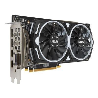 OPRAVENÉ - MSI Radeon RX 580 ARMOR 8G OC / PCI-E / 8GB / 2x HDMI / DL-DVI-D / 2xDP / active