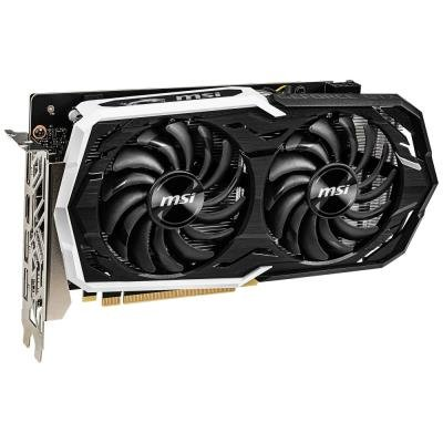 MSI GeForce GTX 1660 Ti ARMOR 6G OC / PCI-E / 6GB DDR6 / HDMI / 3x DP