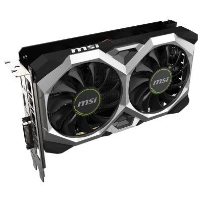 MSI GeForce GTX 1650 SUPER VENTUS XS OC / PCI-E / 4GB GDDR6 / DVI-D / HDMI / DP