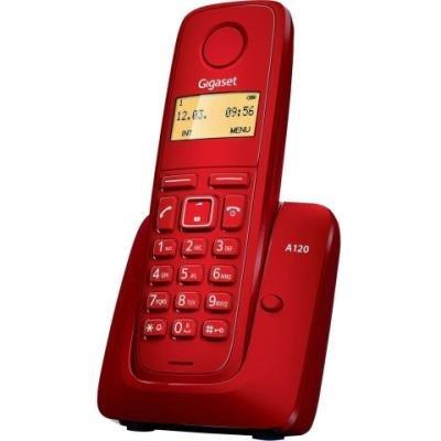 Bezdrátový telefon Siemens GIGASET A120 červený