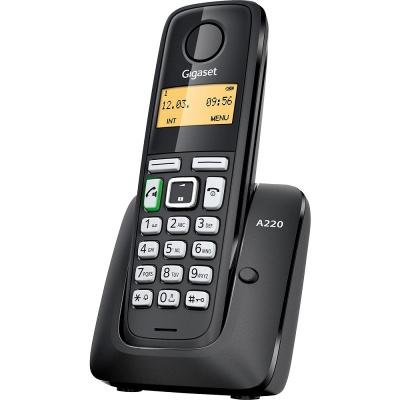 Bezdrátový telefon Siemens GIGASET A220 černý