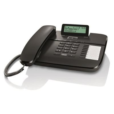 Standardní telefon Siemens GIGASET DA710 černý
