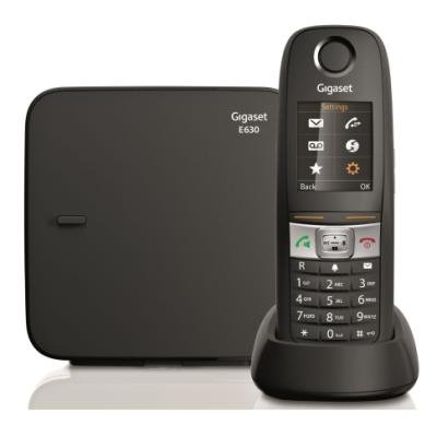 SIEMENS GIGASET E630 - DECT/GAP bezdrátový telefon, barva černá