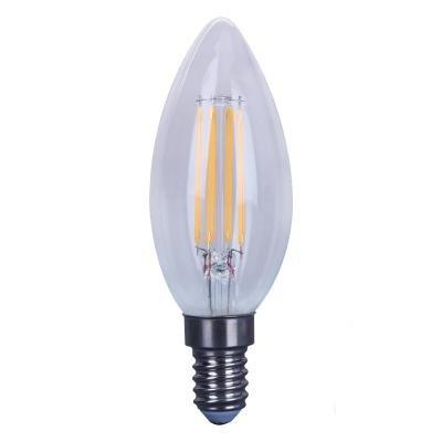 IMMAX LED žárovka Filament E14/230V C35 4W 2700K teplá bílá 470lm step Dim (možnost stmívání)