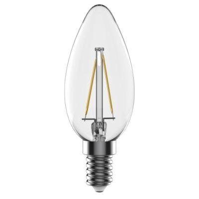 LED žárovka TESLA CRYSTAL RETRO CANDLE E14 2,2W