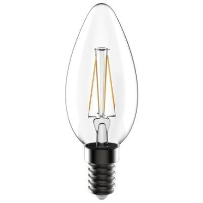 LED žárovka TESLA CRYSTAL RETRO CANDLE E14 4W