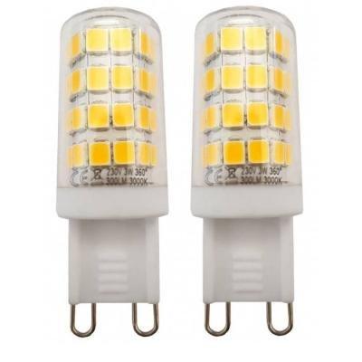 LED žárovka TESLA G9 3W dvojbalení