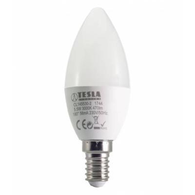 LED žárovka TESLA CANDLE E14 5,5W