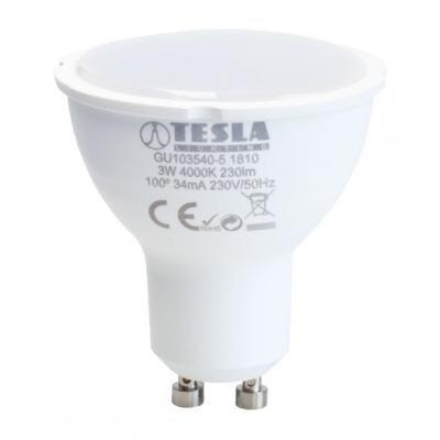 LED žárovka TESLA GU10 3W