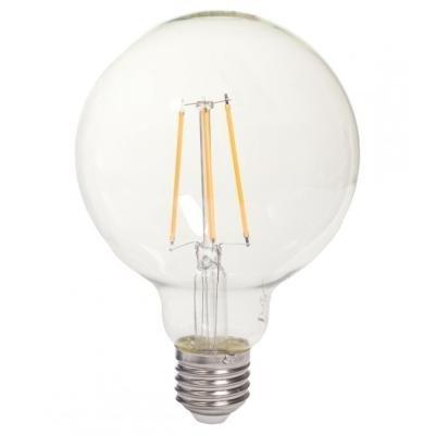 LED žárovka TESLA CRYSTAL RETRO GLOBE E27 8W