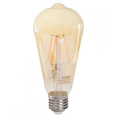 LED žárovka TESLA CONE BULB CRYSTAL RETRO E27 4W