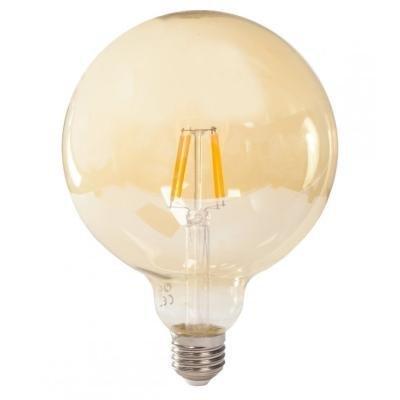 LED žárovka TESLA GLOBE CRYSTAL RETRO E27 4W
