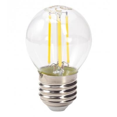 LED žárovka TESLA RETRO FILAMENT miniglobe E27 4W