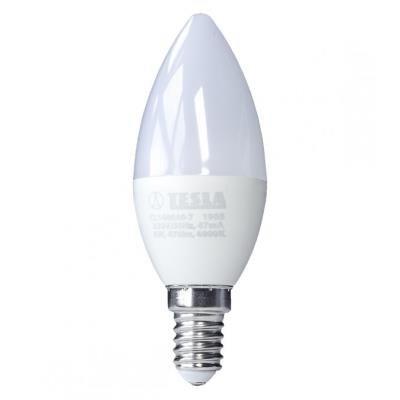 LED žárovka TESLA CANDLE E14 6W