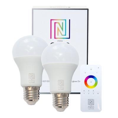 LED žárovka IMMAX Neo E27 8,5W teplá bílá 2ks