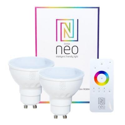 LED žárovka IMMAX Neo GU10 5W RGB 2ks