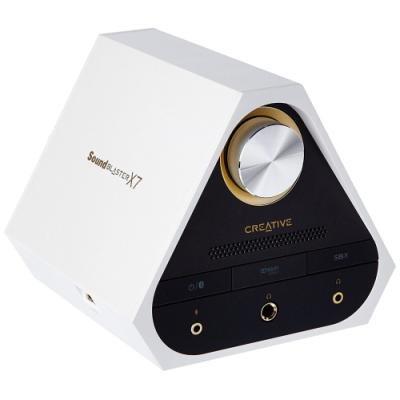 Zvuková kartaCreative Sound Blaster X7 bílá
